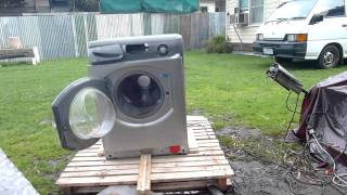 Washer Self Desctruction
