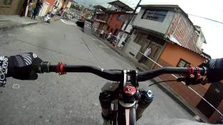 First Person View Downhill Biking