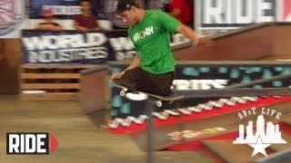 Amazing Skateboard Tricks by Legless Italo Romano
