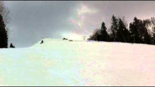 Backflip Chain of 26 Skiers