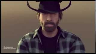 Chuck Norris Wishes You a Merry Christmas