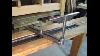 The Foot Powered Lathe
