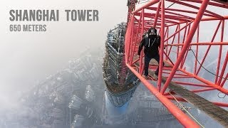 Climbing to the Top of Shanghai Tower