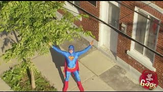 Real Life Superman Prank