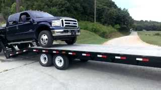 Loading a Truck onto a Flatbed Fail